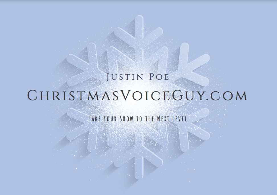 Christmas Voice Guy